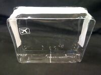 TRAVEL ZIP BAG CLEAR AIRPORT TRANSPARENT LIQUID TOILETRIES CABIN HOLIDAY POUCH