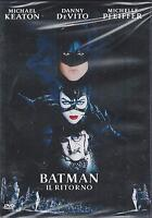 Dvd **BATMAN IL RITORNO**con Michael Keaton D. DeVito M. Pfeiffer nuovo 1992