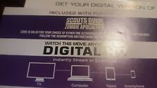Scouts Guide to the Zombie Apocalypse ( JUST DIGITAL HD ONLY)