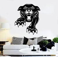 Vinyl Wall Decal Panther Animal Predator Tiger Tribal Decor Stickers (ig570)
