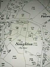 Old Antique Ordnance Map 1912 Flintshire XIII.4 Sychdyn & New Brighton ...