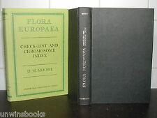 Flora europaea Chromosom Index Checkliste Pflanze Enzyklopädie Hardcover Botanik