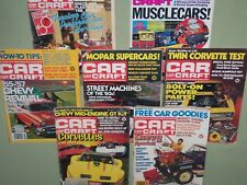 Lot of 7 CAR CRAFT Auto Magazines 1977-1992 Original Issues FREE SHIP