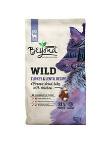 Purina Beyond High Protein, Grain Free, Natural Dry Dog Food, WILD Turkey 3lbs