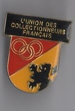 Pin's union des collectionneurs francais