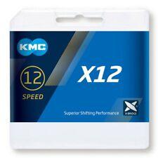 "Kmc x12 126 Link cadena bicicleta 1/2"" X 11/128"" 12 velocidad - plata"