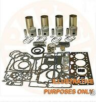 FOR MITSUBISHI 4D33 ENGINE OVERHAUL REBUILD KIT FUSO CANTER FE337 FE437 FE447