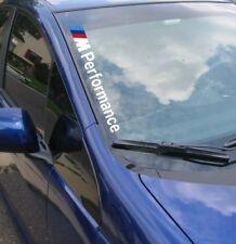 M Performance Decal Vinyl Side Windshield BMW F20 F30 E60 F10 E90 E46