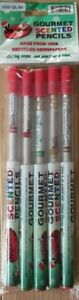 Smencils Gourmet Holiday Scented Pencils Suger Plum Candy Cane Gingerbread 5pk.