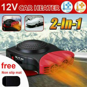 Electric Car Heater 12V DC Heating Fan Defogger Defroster Demister Portable US