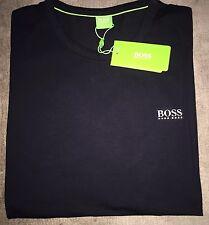 Hugo Boss T-shirt Top size XL Men's BNWT Black NEW *green label*