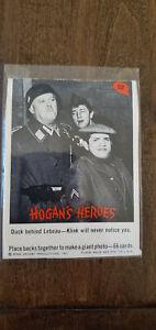 1965 FLEER HOGANS HOGAN'S HEROES CARD DUCK BEHIND LEBEAU KLINK NOTICE YOU # 52