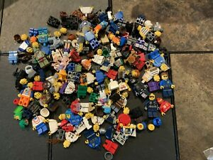 large 8oz (1/2 pound) LEGO MINIFIGURES & Parts Everything Pictured - Used LOT 12