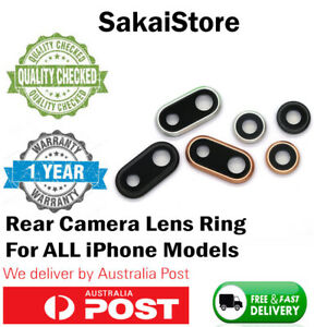 iPhone 6 7 8 Plus  X XR XS MAX Rear Back Camera Lens Glass Ring