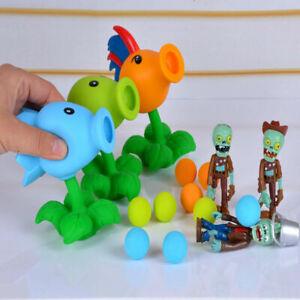 PVZ Plants vs Zombies Pea Shooter PVC Action Figure Model Toy