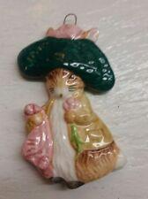 Beatrix Potter Schmid Benjamin Bunny 1982 ornament