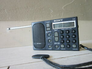 SONY Portable Radio ICF-SW1 AM FM Shortwave
