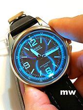 NEW Casio MTP-E201L-8B Day Date Analog Quartz Leather Led Light Men's Authentic