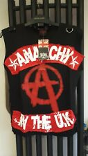 Tiger of London OMEN BNWT top Anarchy in the UK Goth Punk Fetish Black Red