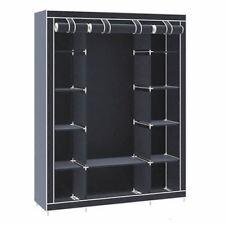 Armarios roperos color principal negro para el dormitorio