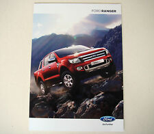 Ford . Ranger . August 2014 Sales Brochure