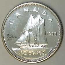 1972 Canada Proof-Like 10 Cents