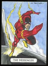 2016 DC Comics Justice League Tarot Sketch Card The Messenger - Jahn Cardoso