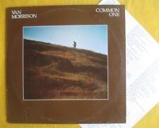 Van Morrison (ex Them) Lp - Common One  + insert, original pressing