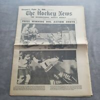 The Hockey News December 27 1958 Volume 12 Number 13 Jacques Plante Cover