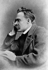 Friedrich Nietzsche Poster, German Philosopher & Poet
