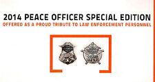 2014 HARLEY-DAVIDSON PEACE OFFICER & FIREFIGHTER BROCHURE -FLHTK-FLHX-FLSTC