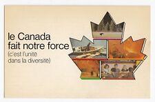 CANADA fait notre force Campagne Unité au Référendum du QUEBEC Carte Postale 2