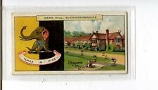 (Jt505-100) Players,Country Seats & Arms,Daws Hill Buckinghamshire, 1910 #98