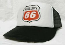 Phillips 66 gas Trucker Hat mesh hat snapback hat black