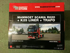 1:50 WSI  MAMMOET Scania R620 + K25 Liner + Trafo Great model!!