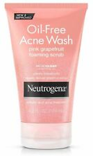Neutrogena Oil Free Acne Wash, Pink Grapefruit Foaming Scrub, 4.2 Fl Oz