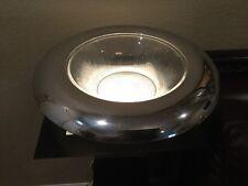 "Nambe Sunburst Glass And Aluminum Alloy Bowl 14"" Designed By Betty Bough"