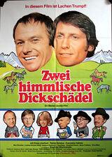 Zwei himmlische Dickschädel Filmposter A1 Klaus Löwitsch, Reiner Schöne, Oehme
