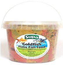 Supa Coldwater Goldfish Aquarium Pond Fish Flake Food 3000ml 3 Litre Tub