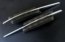 BMW E39 M 5-Series M5 LED Black Smoke Side Indicator Repeater Signal Light Lamp