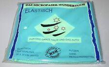 """""""DAS MICROFASER-WUNDERTUCH"""" 30 x 30 cm > ELASTISCH für Haus + Auto >> neu + OVP!"""