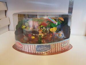RARE Toy Story: Hawaiian Vacation Figure Playset (Disney Store Exclusive)