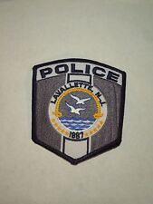 Police Lavallette NJ New Jersey Iron On Shoulder Patch- Seagulls Flying