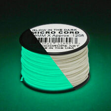 Paracord Planet Rope 1.18mm Micro Paracord 125Foot Spool USA Made