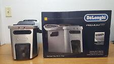 DeLonghi D34528DZ Dual Zone 4 Liter Deep Fryer, Silver