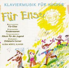 Klara würtz-piano musique pour enfants-pour Elise CD nouveau Beethoven/schumann