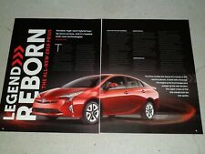 2016 TOYOTA PRIUS 3 PAGE article / ad