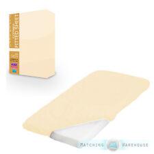 crème 100% coton lit bébé taille Drap-housse pour enfants literie bébé 70x140cm