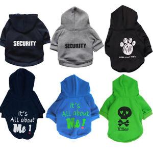 Dog Hoodie Sweatshirt Sweater Coat Shirt For Small Medium Boy Dog Cat Puppy