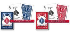 2 Mazzi di carte Bicycle - Supreme Line - (Blu-Rosso)